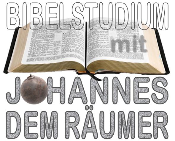 Bibelstudium mit Johannes dem Räumer
