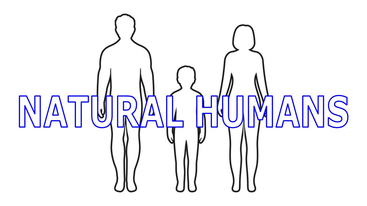Video Presentation Natural Humans