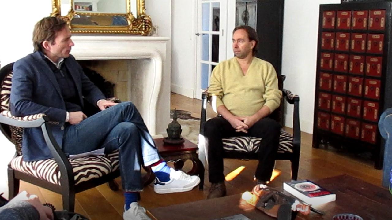Michiel Vos interviewt Johan Oldenkamp
